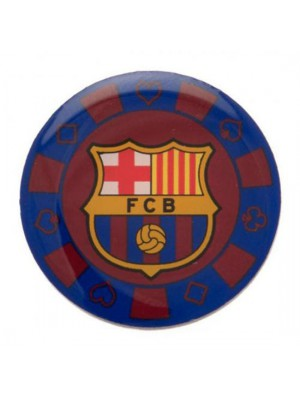 FC Barcelona Poker Chip Badge