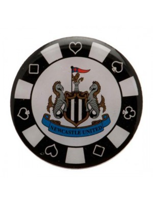 Newcastle United FC Poker Chip Badge