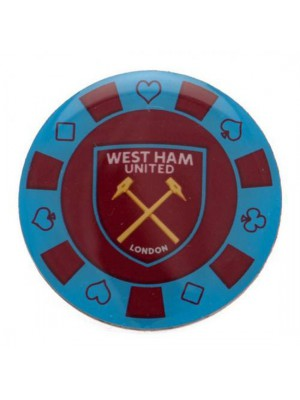 West Ham United FC Poker Chip Badge