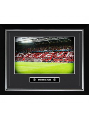 Manchester United FC Historic Moments Picture Believe 16x20