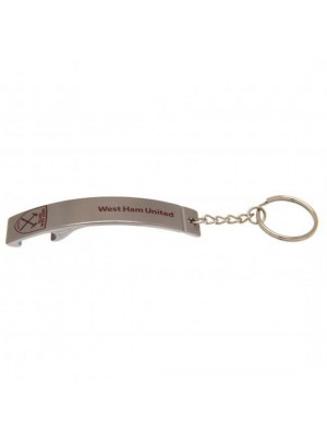 West Ham United FC Bottle Opener Keyring SK