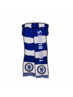 Chelsea FC Show Your Colours Window Sign