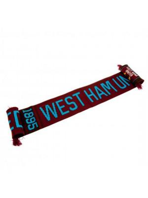 West Ham United FC Scarf NR