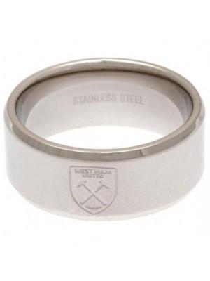 West Ham United FC Band Ring Large