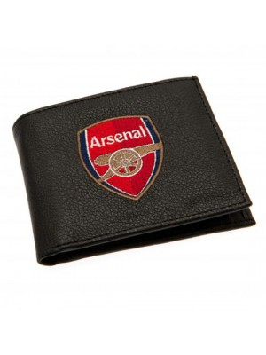 Arsenal Fc Embroidered Wallet