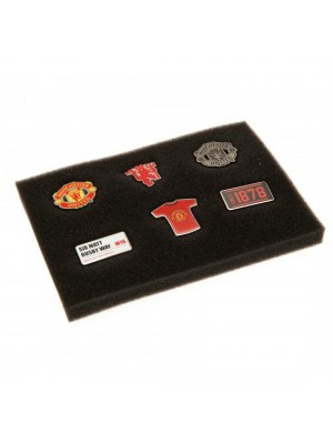 Manchester United FC 6 Piece Badge Set