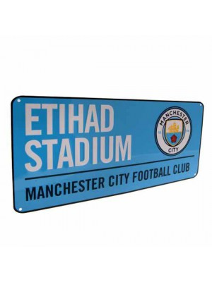 Manchester City FC Street Sign BL