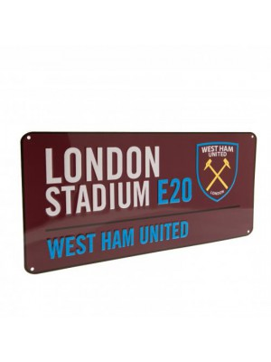 West Ham United FC Street Sign CL
