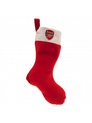 Arsenal FC Supersoft Christmas Stocking