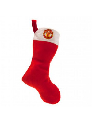 Manchester United FC Supersoft Christmas Stocking