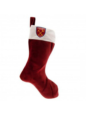 West Ham United FC Supersoft Christmas Stocking