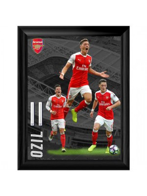Arsenal FC Framed Print Ozil 16 x 12