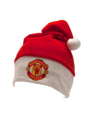 Manchester United FC Supersoft Santa Hat