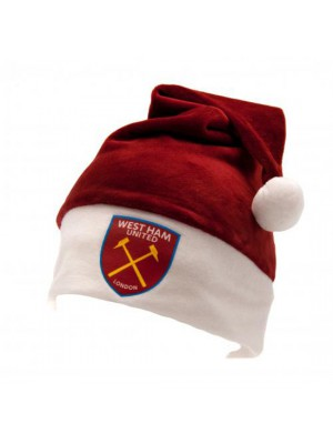 West Ham United FC Supersoft Santa Hat