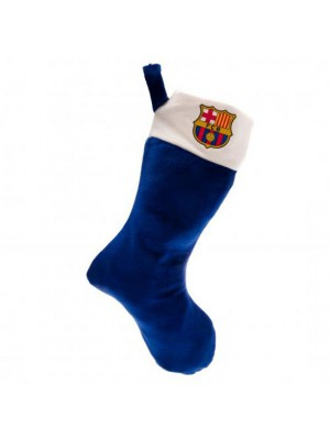 FC Barcelona Supersoft Christmas Stocking