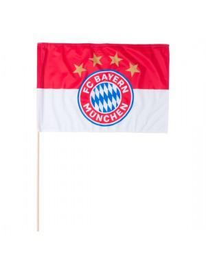 FC Bayern Munchen Flag Logo 60x40 cm (with stick)