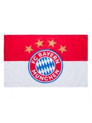 FC Bayern Munchen Flag Logo 90x60 cm