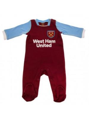 West Ham United FC Sleepsuit 6/9 Months