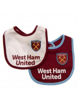 West Ham United FC 2 Pack Bibs
