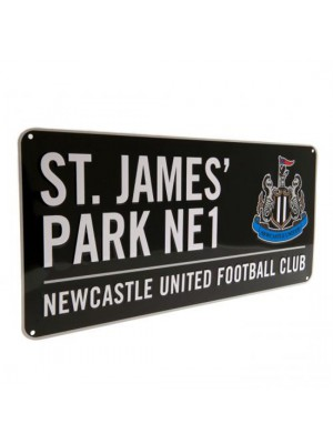 Newcastle United FC Street Sign BK
