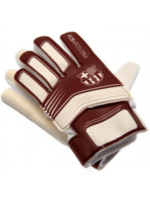 FC Barcelona Goalkeeper Gloves Yths