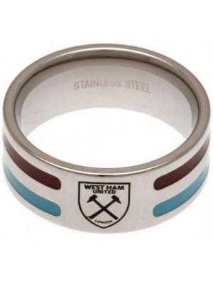 West Ham United FC Colour Stripe Ring Large