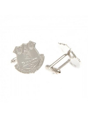 Everton FC Silver Plated Cufflinks CR