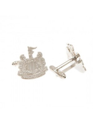 Newcastle United FC Silver Plated Cufflinks CR