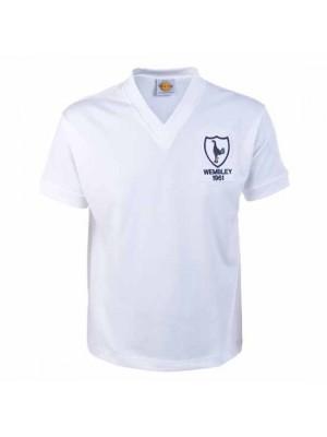 Tottenham Hotspur 1961 Wembley Retro Football Shirt
