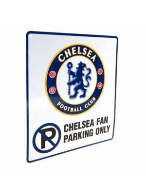 Chelsea FC No Parking Sign