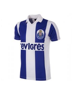 FC Porto 1986 - 87 Short Sleeve Retro Football Shirt
