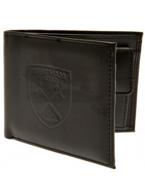 West Ham United FC Debossed Wallet