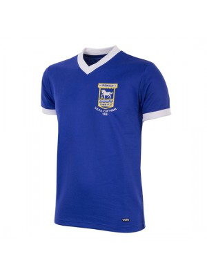 Ipswich Town FC 1980 - 81 Short Sleeve Retro Football Shirt