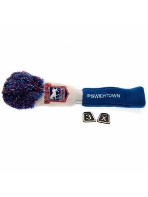 Ipswich Town FC Headcover Pompom (Fairway)