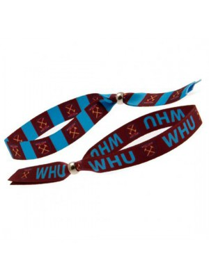 West Ham United FC Festival Wristbands