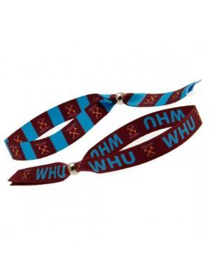 West Ham United FC Festival Wristbands