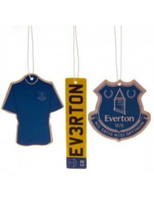 Everton FC 3 pack Air Freshener