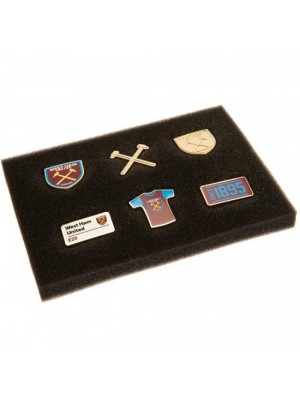 West Ham United FC 6 Piece Badge Set