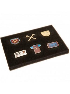 West Ham United FC 6 Piece Badge Set