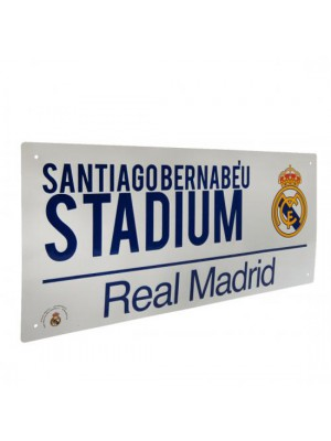 Real Madrid FC Street Sign