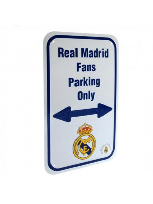 Real Madrid FC No Parking Sign