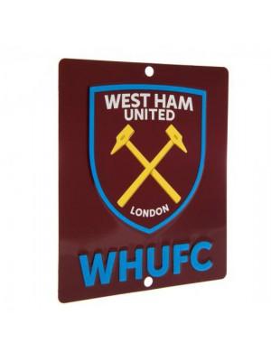 West Ham United FC Window Sign SQ