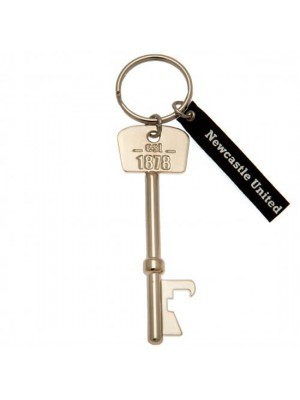 Newcastle United FC Bottle Opener Keyring Key