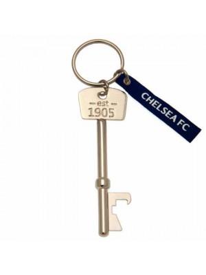 Chelsea FC Bottle Opener Keyring Key