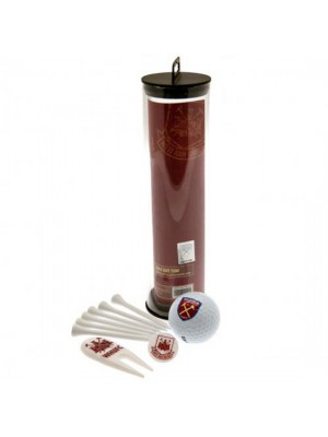 West Ham United FC Golf Gift Tube