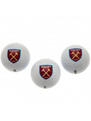 West Ham United FC Golf Balls