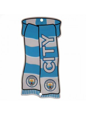 Manchester City FC Show Your Colours Window Sign