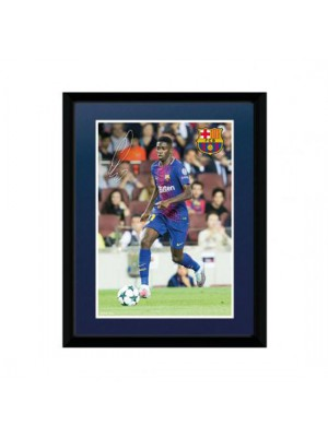 FC Barcelona Picture Dembele 8 x 6