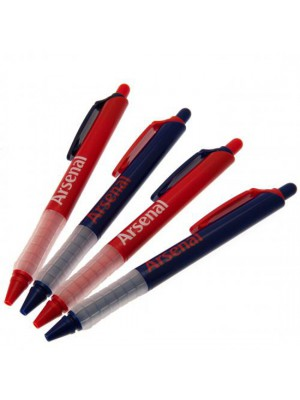 Arsenal Fc 4 Pack Pen Set