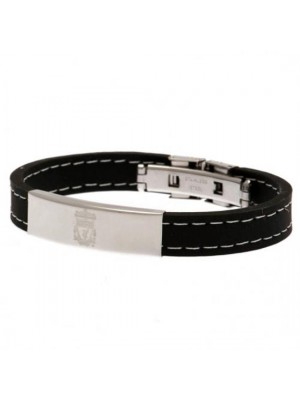 Liverpool FC Stitched Silicone Bracelet